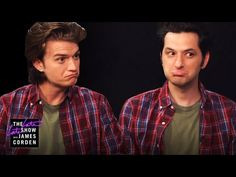 """The Truth About Steve & Jean-Ralphio Ben Schwartz, who played Jean-Ralphio Saperstein in """"Parks and Recreation"""" and Joe Keery, who plays Steve Harrington in """"Stranger Things"""" sit. Stranger Things Quote, Stranger Things Steve, Stranger Things Aesthetic, Parks N Rec, Parks And Recreation, Jean Ralphio, Reggie Watts, The Late Late Show, Steve Harrington"""
