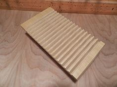 Wood Plate Rack For Vertical Plate Storage By SchultzWoodProducts