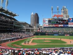 The Stadium!  #Cleveland  #Indians  #Baseball