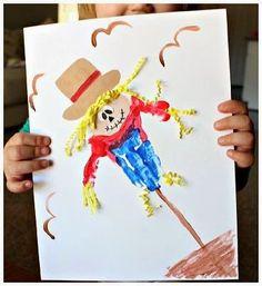 Cara Membuat Kerajinan Tangan Yang Mudah   Lukisan Boneka Sawah   Berikut ini Cara Membuat Kerajinan Tangan Yang Mudah Untuk Anak www.KerajinanTanganTop.blogspot.com #kerajinan #kerajinantangan #caramembuatkerajinantangan #caramembuatkerajinantanganyangmudah