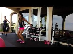 eGym.Kiana.com Kiana's Move of the Day: Get Sexy Shoulders! Exercise Triple Threat Shou...