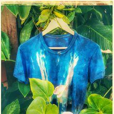 COLEÇÃO: YUCATAN DAS MATAS, de Yuri Salgado. Blusa Estilo Tie-Dye.