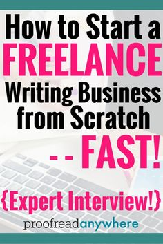 Gina started her own freelance business from scratch and grew it to a quit-your-job level in less than six months. Learn how to start a freelance writing business from scratch - fast!