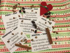 """Jövő héten kinyílik az adventi naptár első ablaka! Ilyenkor a felnőttek is izgatottan számolgatják a napokat karácsonyig, hát még a gyerekek... De mi lenne, ha már december elsejétől minden nap egy """"mini karácsony"""" lenne? Ha az év lezárásaként megajándékoznánk a gyerekeket és magunkat 24 élmény-csomaggal? Íme egy... Xmas Gifts, Holidays And Events, Advent Calendar, Presents, Holiday Decor, Winter, Party, Blog, Christmas"""