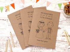 Wedding Car, Our Wedding, Wedding Shop, Crayon Set, Wedding Gifts For Guests, Puzzle Books, Guest Gifts, Wedding Entertainment, Paper Envelopes