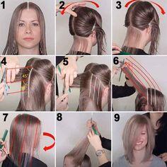 Come tagliare i capelli da sola a casa