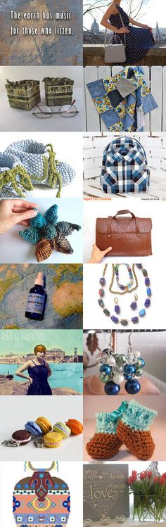 The Earth has Music... by Marianne on Etsy--Pinned+with+TreasuryPin.com