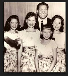 Those Lennon Sisters were Goddesses in our house.