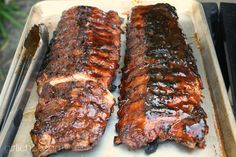 Barbecue Ribs #recipe by @girlichef