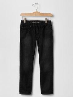 Boy Slim Fit Jeans Black Denim School 100% Cotton 1969 GAP 6 7 12 $34.95 #GapKids #SlimSkinny #Everyday