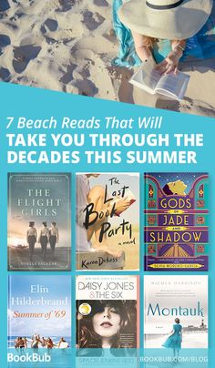 Looking for a beach read that will transport you through time? These 7 books are the perfect summer read, so that you can travel while laying on your beach towel!    #summer #fiction #historical #beach