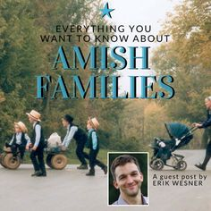How large are Amish families? What roles do parents play? Do Amish allow divorce? Do they remarry? We look at these & other questions on Amish families. Amish Men, Family Roles, Amish Books, Church Fellowship, Amish House, Amish Family, Amish Culture, Cultural Beliefs, Amish Community