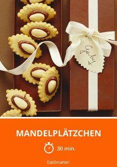 Mandelplätzchen - smarter - Zeit: 30 Min. | eatsmarter.de