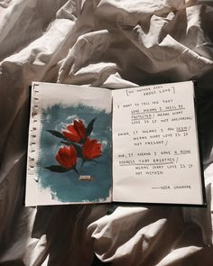 Noor Unnahar art journal poetry | notebook ideas inspiration pale floral painting tumblr aesthetic