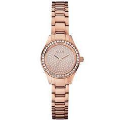 6430f157a39 Relógio Guess Aço Rosé Feminino Relogio Rosa