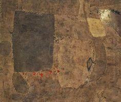 Composición. Alberto Burri. 1953. Museo Guggenheim, New York