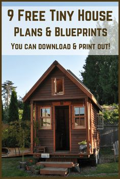 Tiny House Plans Free To Download & Print | 8 Tiny House Blueprints https://knowledgeweighsnothing.com/7-free-tiny-house-full-build-plans-to-download-print/