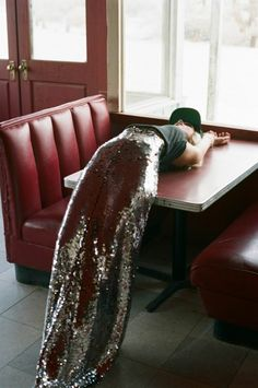 glittered out maxi.  I don't mean rhinestones!