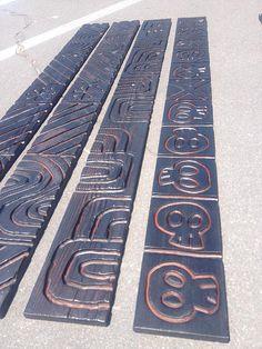 Tiki Totem, Tiki Tiki, Halo Bar, Easter Island Statues, Tiki Head, Tiki Statues, Tiki Bar Decor, Tiki Lounge, Tiki Mask