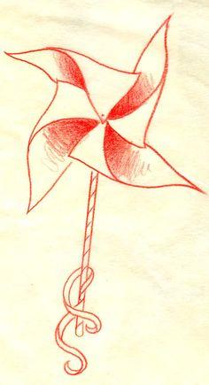 Pinwheel tattoo