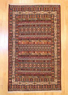 Gabbeh Tribal Rug TAN80012026 Iran