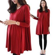 Платья с длинным рукавом для беременных