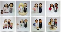 How cute are these cake toppers by Angel in my Attic? http://www.angelinmyattic.co.uk/#