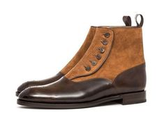 Handmade men brown boots, button camel suede boot, men formal dress brogue boots sold by Bishoo. Shop more products from Bishoo on Storenvy, the home of independent small businesses all over the world. Mens Brown Boots, Mens Suede Boots, Suede Ankle Boots, Suede Leather, Leather Shoes, Brown Leather, Shoe Boots, Soft Leather, Men's Shoes