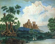 ROMANTIC LANDSCAPE   American Folk Art Museum