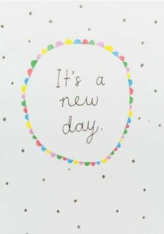 It´s a new day! Good morning. #GoodMorning #Wednesday
