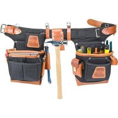 Black Adjust-to-Fit FatLip Nylon Tool Belt Set 9850 – Occidental Leather Outlet