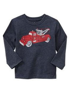 Colored graphic T - Moms and tots are obsessed! Durable mix-and-match knits designed especially for comfort, ease, and fun.