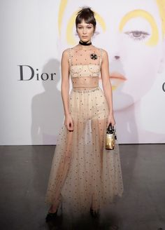 Bella Hadid hosts the fête for Christian Dior's latest beauty book.