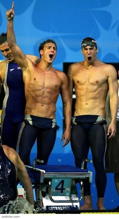 Happy Swimmers