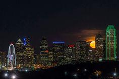 Supermoon in Dallas,  11/14/16