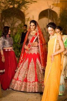 Beautiful bridal lehenga  Jaipur weddings | Akash & Parnika wedding story | Wed Me Good