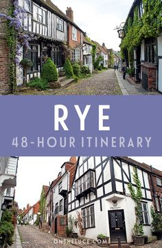 How to spend a weekend in Rye in East Sussex, England, with tips on what to see, do, eat and drink in a itinerary for this historic coastal town. Rye Sussex, East Sussex, Oh The Places You'll Go, Places To Travel, Rye England, Day Trips From London, Uk Holidays, Family Days Out, Weekend Breaks