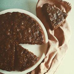 La Tana del Coniglio: Torta con cioccolato e fiocchi d'avena