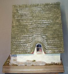 "Miniature Mouse House, Brambly Hedge inspired, made in Rik Pierce ""Storybook Cottage"" class - pillisminis.de"