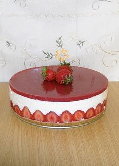 Reteta Cheesecake cu capsuni din categoria Dulciuri diverse