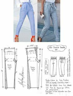 Best 6 FREE PATTERN ALERT: Pants and Skirts Sewing Tutorials – On the Cutting Floor: Printable pdf sewing patterns and tutorials for women – SkillOfKing.Com Diy Clothing, Clothing Patterns, Dress Patterns, Sewing Pants, Sewing Clothes, Easy Sewing Patterns, Sewing Tutorials, Fashion Sewing, Diy Fashion