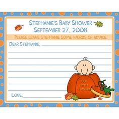 Advice Card for new mom.