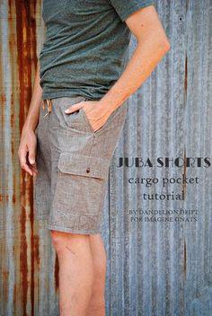 Juba Shorts with Cargo Pockets