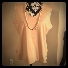 Staple - Tan Tank Jonden. Size XL. 90% nylon/10% spandex. Dress up or dress down. V neck & sleeveless. jonden Tops Blouses
