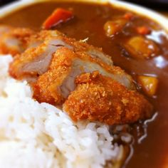#Japanese #curry #katsu for lunch!
