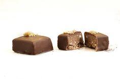 Fresh Chocolates - Chai Tea Bonbon Restaurant Recipes, Melting Chocolate, Chai, Chocolates, Preserves, Pudding, Fresh, Desserts, Food