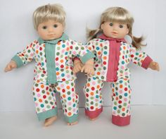 Simplicity pattern#4268 to make Bitty Twins clothes