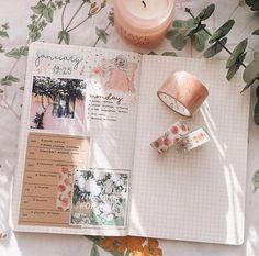 bujo inspo Bullet Journal En Español, Bullet Journal Spread, Journal Diary, My Journal, Journal Pages, Journal Design, Journal Layout, Bullet Art, Bullet Journel