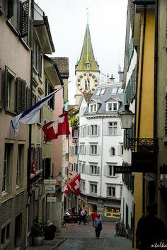 Went to Zurich, Switzerland