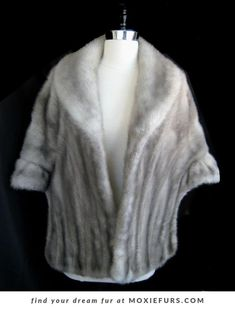 Find your dream fur at moxiefurs! Click through to see all our gorgeous real fur shawls capes and bridal bolero jackets. Find your dream fur at moxiefurs! Click through to see all our gorgeous real fur shawls capes and bridal bolero jackets. Wedding Fur, Wedding Cape, Fall Wedding, Wedding Shawls, Vintage Fur, Vintage Bridal, Winter Bride, Winter Weddings, Wedding Venue Inspiration